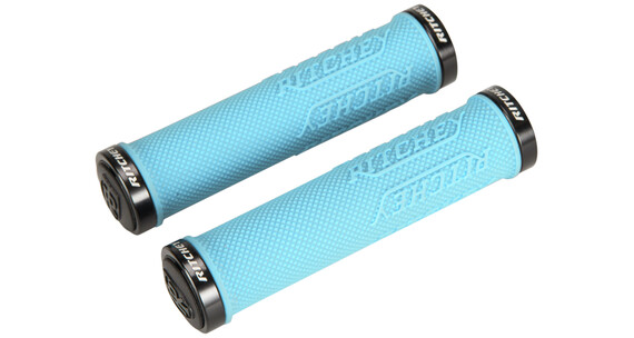 Ritchey WCS True Grip X - Grips - Lock-On bleu/turquoise